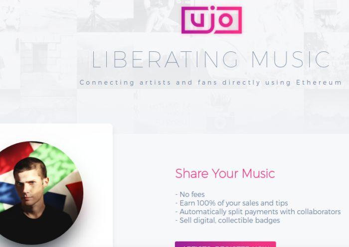 Música - compartilhamento, venda, e colaboração para músicos sem intermediários.