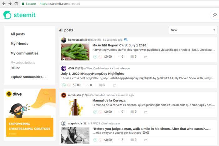 Steemit: um blog criativo baseado em Blockchain - Criatividade em aplicações Blockchain