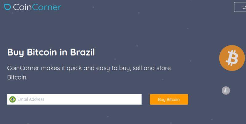 Coincorner - carteira para comprar Bitcoin e outras criptomoedas no Brasil